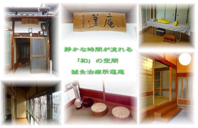 橋本市や紀の川市で人気の蓬庵の様子