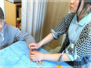 和歌山市の鍼灸院睦月で勉強会をしました。院長は丸山先生です。