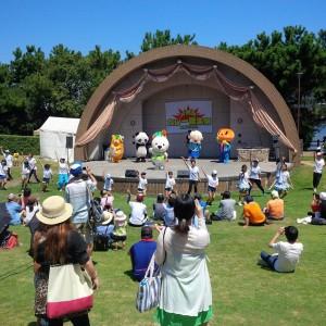 和歌山市であったカレー音楽祭に参加しました。