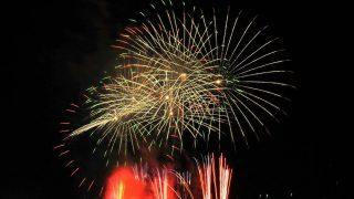 花火の写真 九度山町