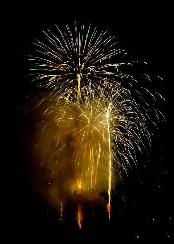 九度山の花火の写真