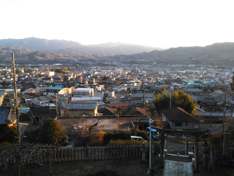 庚申山からの眺め