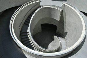 兵庫県立美術館 円形テラス写真
