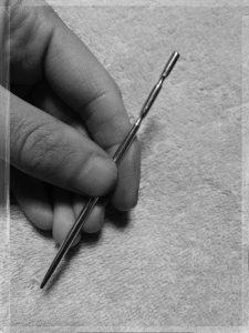 手作りてい鍼