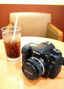ドトールでコーヒーとカメラ