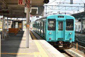 JR和歌山線 橋本駅