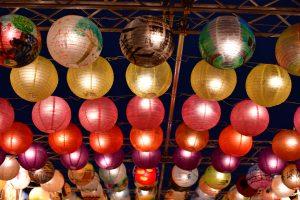光の交流プログラム =台南・光の廟埕= ランタン 写真 photo