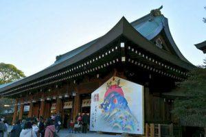 橿原神宮の絵馬