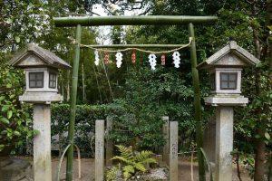 竹取物語のゆかりの地