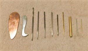 いろいろな接触鍼 鍉鍼 手作りしたよ