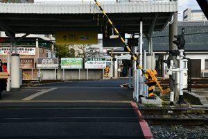 近鉄電車 橿原神宮前駅
