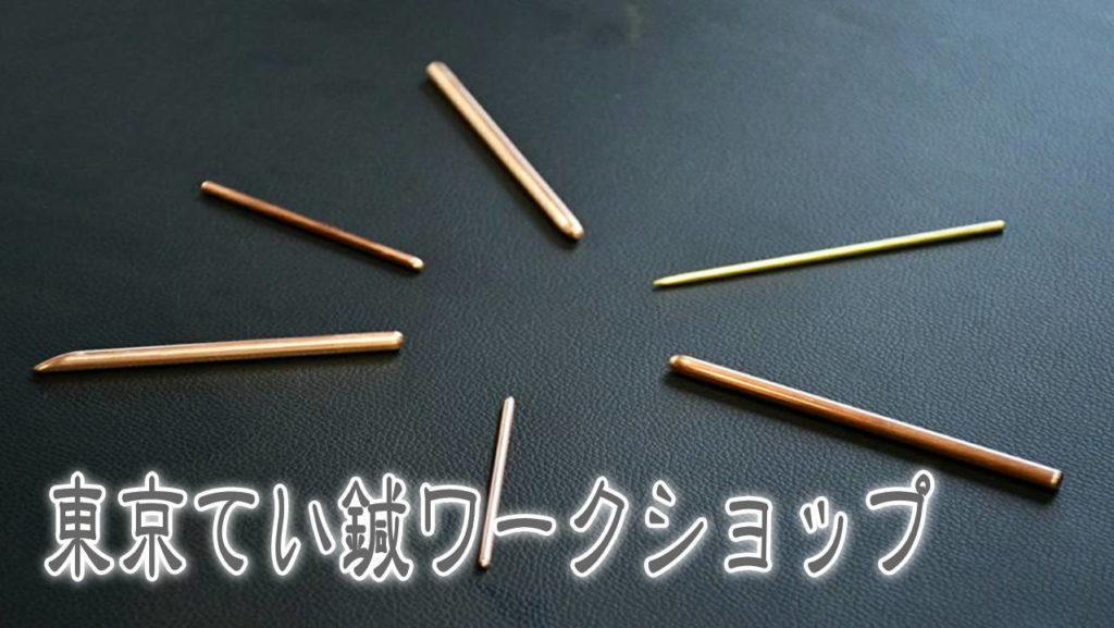 東京てい鍼ワークショップ