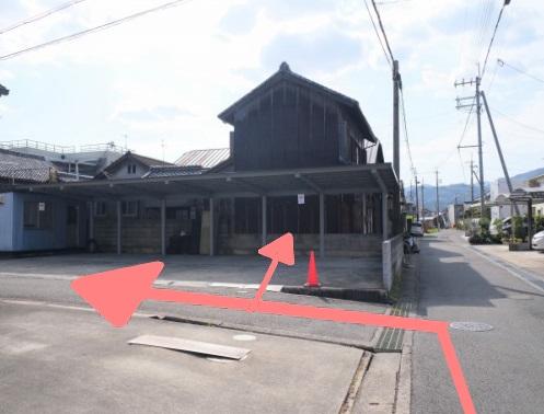 橋本市高野口町の鍼灸院、蓬庵までの道案内の写真