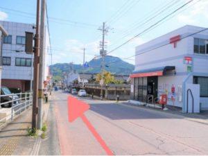 高野口c駅 駅前通りの写真
